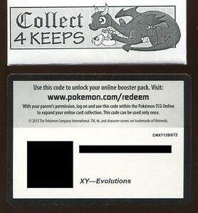 Cheap 50 x Pokémon XY Evolutions Online Booster Code Cards PTCGO Sent ASAP!