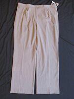 With Tags Women's East 5th Secretly Slender Beige Dress Pants Plus Size 20w