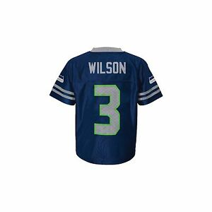 reputable site 519e7 3f8b9 Details about BLOW OUT! Seattle Seahawks Russell Wilson infant baby toddler  #3 replica jersey