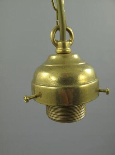 Lampen Gehänge Messing brün o.Schirm Gh.6-H.60cm Vintage Deko für Haus/&Garten