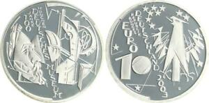 10 Years Dt. Museum 2003 Mint Mark D Proof IN Coin Capsule
