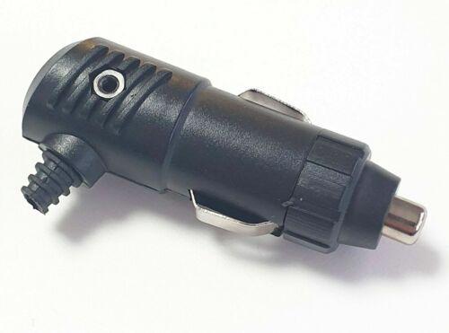 1x conector del encendedor de cigarrillos sin interruptor de copia de seguridad 3a 12v//24v para coche