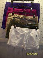 Jcp / Jc Penney Misses Poplin Cuffed Short Shorts 3.5 Insem Free Shpg Nwta