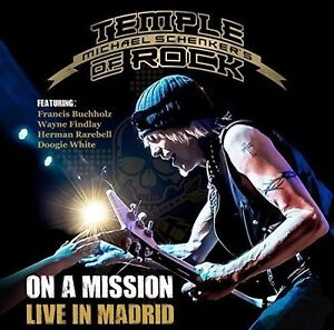 Michael-Schenker-039-s-Temple-of-Rock-On-a-Mission-Live-In-Madrid-2CD-NEW