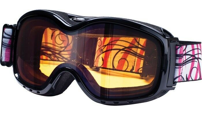 Dirty Dog Ladies Fresh Ski Goggles Cat 1 orange Lens Snowboarding Pink 54050
