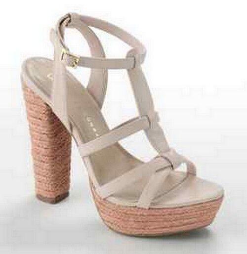 Lauren Conrad LC Blaush Wedge Platform High Heel Sandal schuhe Josephine