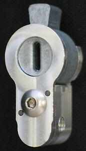 American Profile Cylinder Adapter; Use U.S. Cylinders With European Mortise Lock
