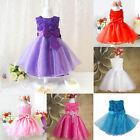 2-7 Baby Flower Girl Birthday Wedding Bridesmaid Pageant Graduation Formal Dress
