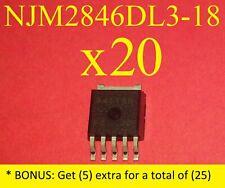 2pcs NJM2846DL3-18 NJM2846DL3 TO252-5