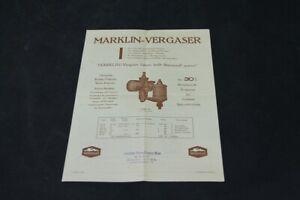 Age-Print-Marklin-Carburetor-Old-Vintage-Advertisement-Advertising