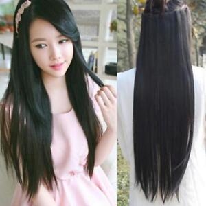 Straightened Long Layered Black Hair 59