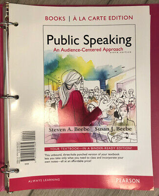 Public Speaking : An Audience-Centered Approach, Books a ...