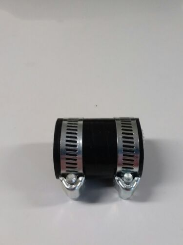 Honda TRX250R exhaust pipe clamp coupler black