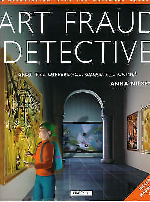 """""""AS NEW"""" Art Fraud Detective: Spot the Difference, Solve the Crime, Nilsen, Anna"""