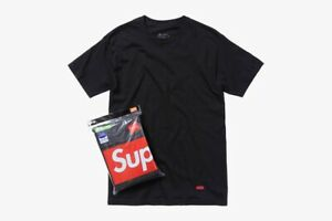 Supreme SS17 Hanes Tagless Small Box Logo Tee Shirt 1 T-SHIRT ONLY