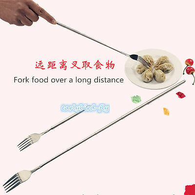 Freeloader Spork Expanding Spoon Fork Food Extendable Telescopic Extends Prank