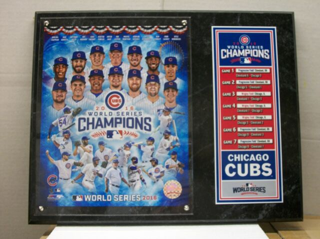 feedfe1d7 Chicago Cubs 2016 World Series Champions Composite Plaque
