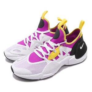 73250c01e1cc8 Nike Huarache E.D.G.E. TXT QS Magenta Neon White Yellow Men Shoes ...