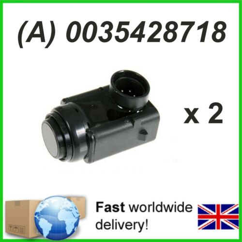 2 x Sensor de Aparcamiento PDC Mercedes Sl Slk M R GL Vito-a0035428718 0035428718