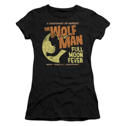 """The Wolf Man /""""Full Moon Fever/"""" Women/'s Adult or Girl/'s Junior Babydoll Tee"""