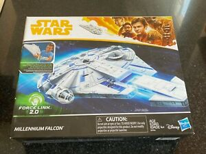 STAR-WARS-MILLENNIUM-FALCON-Force-Link-2-0-SOLO-Movie-Disney-Hasbro-Han-Solo
