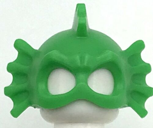 Lego New Bright Green Minifigure Headgear Head Cover Swamp Creature Eye Holes