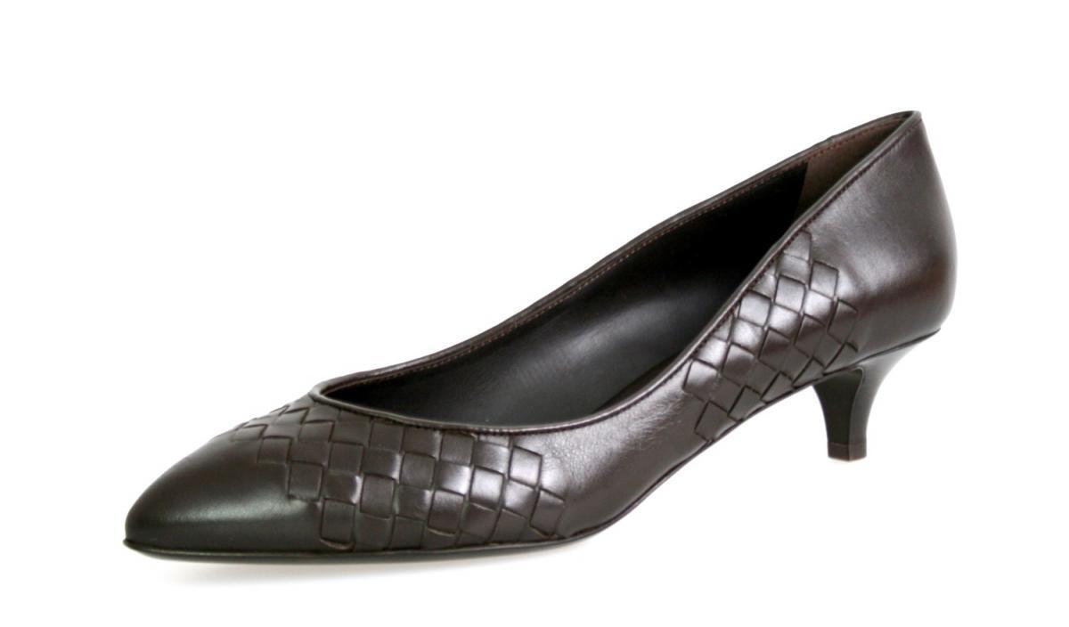 Auténtico de lujo Prada Zapatos de salón salón salón VK851 marrón nuevo nos 10 EU 40 40,5 Reino Unido 7  hasta un 50% de descuento