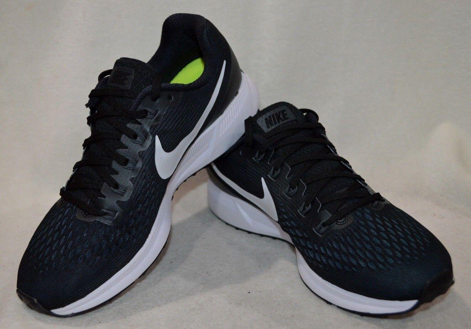 Nike Air Zoom Pegasus 34 nero bianca grigio Wouomo Running scarpe-Asst Dimensiones WIDE