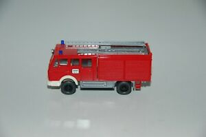 Wiking-Fire-Brigade-1-87-H0-Mercedes-Benz-Trolley-Utility-Top-Condition-8