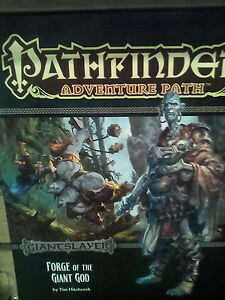 Details about Pathfinder Adventure Path: Giantslayer Part 3 - Forge of the  Giant God PZO 9093