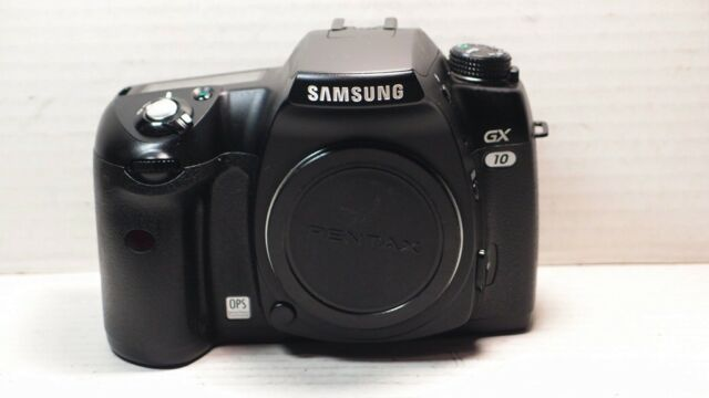 Samsung Digimax GX-10 10.2MP Digital SLR Camera Black BODY ONLY +BATTERY+CHARGER
