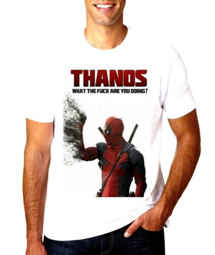 NEW DEADPOOL THANOS WHAT THE F##K  T SHIRT