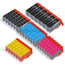 30x DRUCKER PATRONE+CHIP für CANON PIXMA IP3600 MP550 MP560 MP620 MP630 MP640