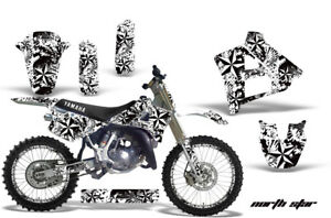Graphics-Kit-Decal-Sticker-Wrap-Plates-For-Yamaha-YZ125-YZ250-91-92-NSTAR-W
