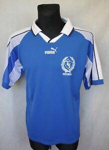 the latest d71d8 50738 Details about Vintage Retro PUMA Täby IS Fotboll Sweden Shirt Jersey #4  Trikot Size M Medium