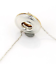 thumbnail 4 - Tiffany &Co Picasso Magic 18K Gold Sterling Silver Reversible Disk Necklace RARE
