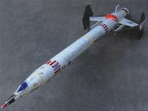 Accur8-034-Phantom-Chameleon-Skin-034-Kit-For-Estes-Cosmic-Interceptor-Model-Rocket
