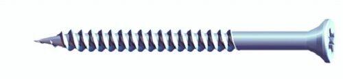Twin-threaded cinc plateado woodscrews POZI de cabeza avellanada Tamaño cwz 6mm