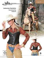 Jalie 2677 Equestrian Horsemanship Bodysuit Sewing Pattern - Western Style