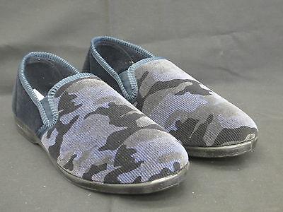 Clothing, Shoes & Accessories Realistic Herren Camaflauge Muster Pantoffeln 'x2r011' Marineblau Harmonious Colors