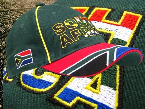 "neu Fan WM Cap  100 /% Baumwolle 2018 Südafrika Kappe /""SOUTH AFRICA/"""