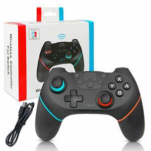 Wireless-Pro-Controller-Gamepad-Joypad-Remote-for-Nintendo-Switch-Console-Black