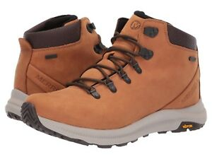 2fa8c313b7c Details about NEW Mens Merrell Ontario Mid Waterproof Hiker Brown Sugar  Leather Boots GENUINE
