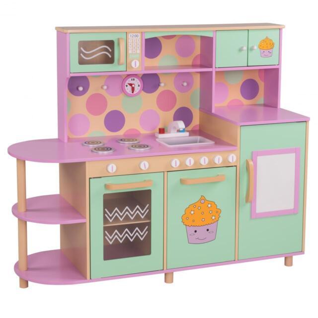 Froggy Kinderküche aus Holz 121 x 101 x 40 cm