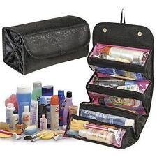 Roll N Go 4 in 1 Travel Buddy Cosmetic Toiletry Shaving Jewelry Bag Organizer