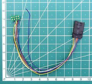 5065# Decodeur 8 poles NEM 652 DCC  + 4 fonction Decoder digital LaisDcc