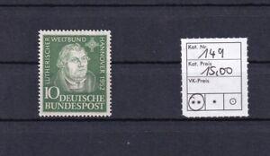 Bund-Michel-Nr-149-Postfrisch