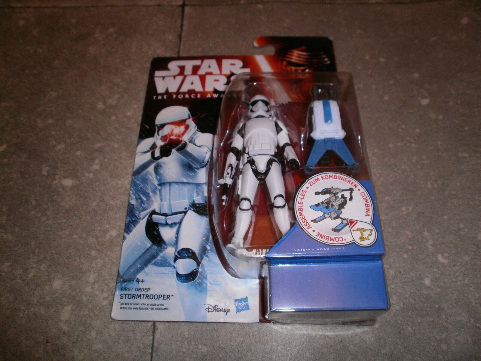 "Figurine StarWars : Figurine STAR WARS ""THE FORCE AWAKENS"": FIRST ORDER STORMTROOPER - NEW SEALED"