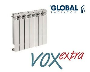 Elementi Termosifone RADIATORE IN ALLUMINIO GLOBAL VOX EXTRA Interasse 600