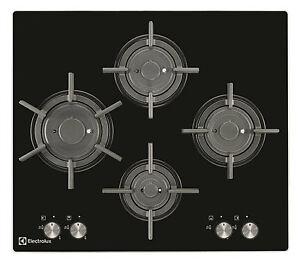 Piano Cottura 20 Gas 60 Cm Vetroceramica Nero Electrolux Pvf645uon